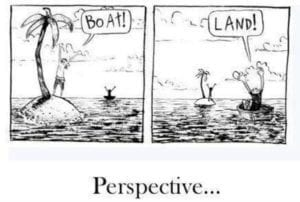 cartoon about perspective