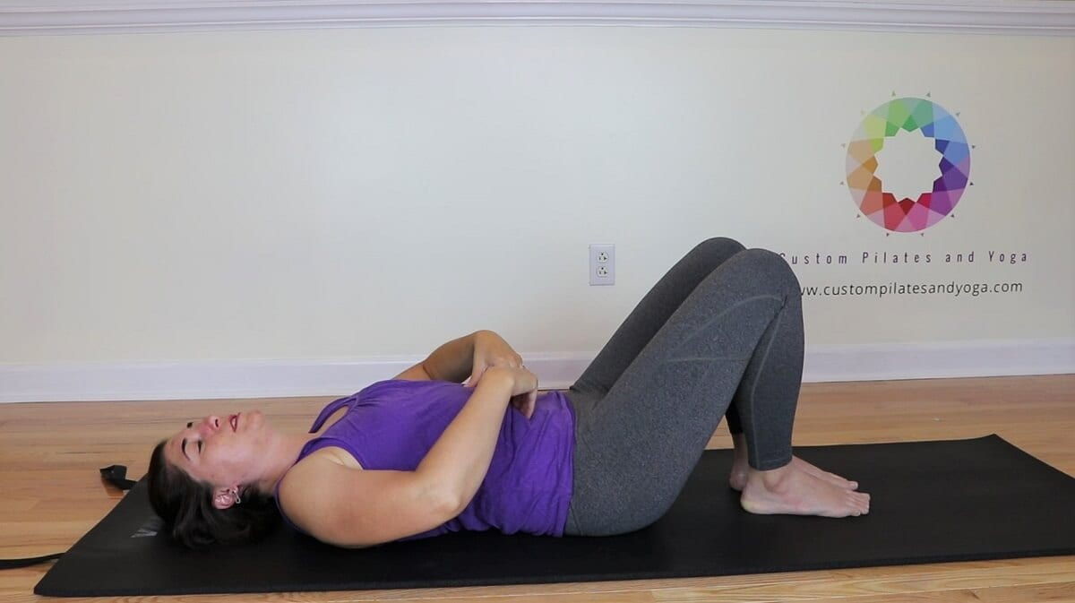 a picture of the Imprint Pilates exercise