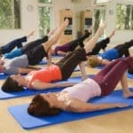 teaching Pilates mat class