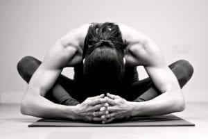 yin yoga baddha konasana