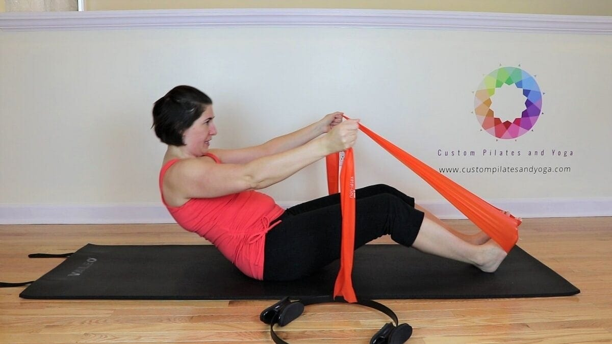 Pilates roll up modifications
