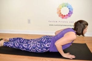 practice cobra pose to build a strong core