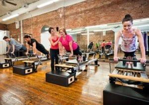teaching Pilates