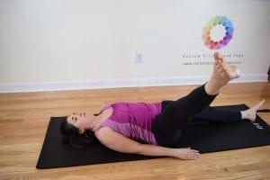 pilates one leg circle