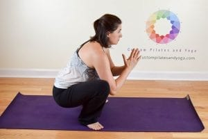 Malasana (yoga squat pose)