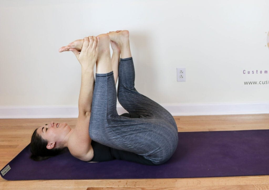 Happy Baby Pose to Realign Your SI Joint - Custom Pilates ...