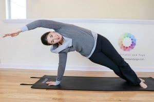 a picture of Pilates Side bend