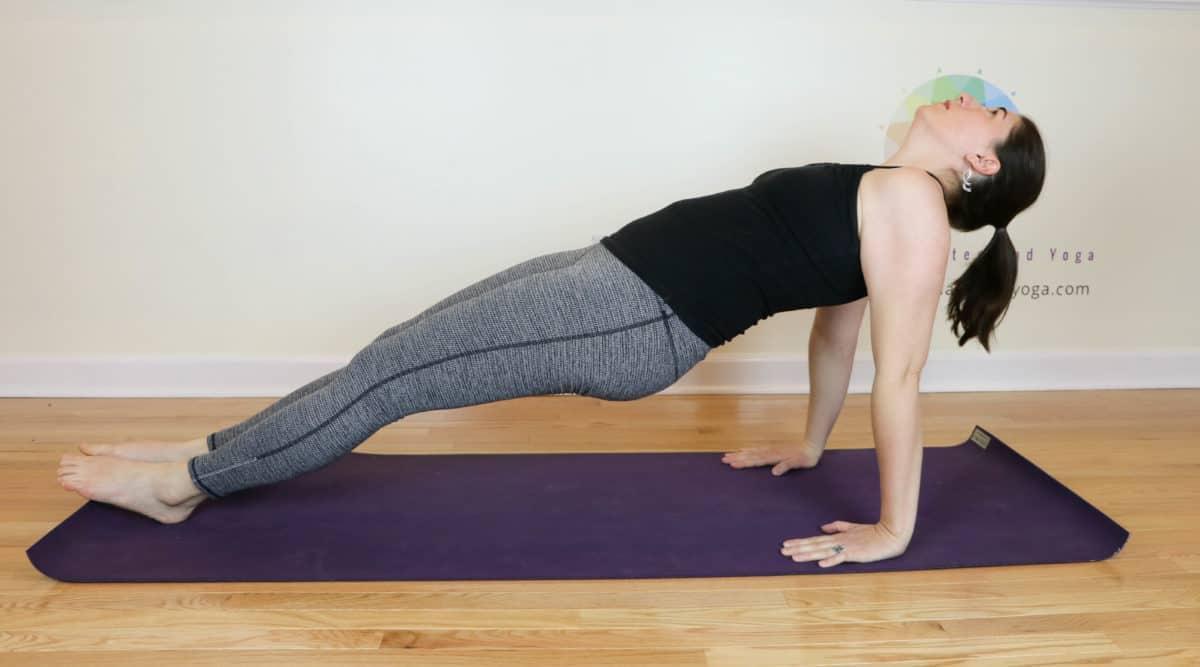 Reverse Plank Pose
