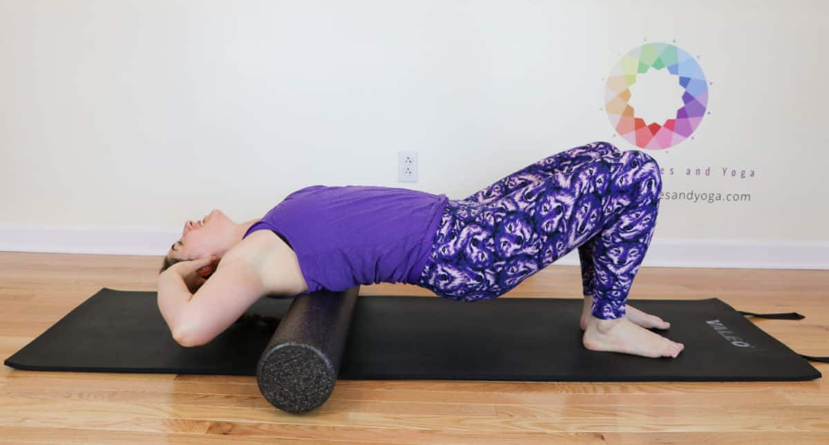 upper thoracic extension with the foam roller
