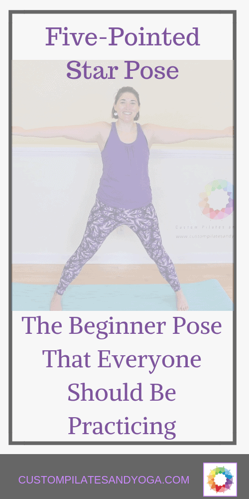 five-pointed star pose