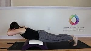 this pilates spinal extension exercise will help you fight