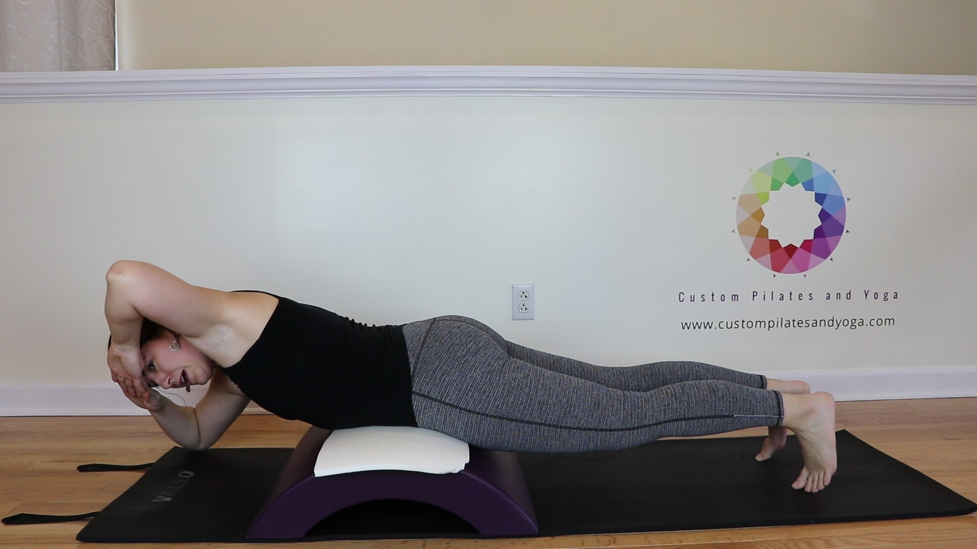 spinal rotation prone on the Arc barrel
