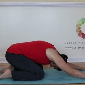 how to relieve back pain with shell stretch 3 easy steps