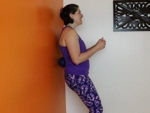 rolling with The Orb for low back/QL/psoas pain relief